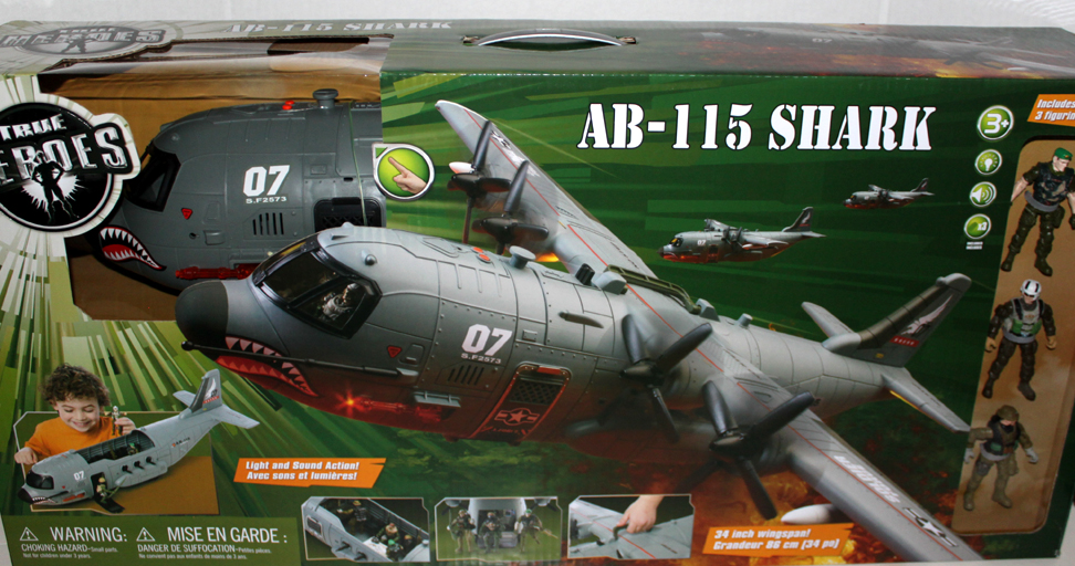 Shark Toys At Toys R Us : Shark plane ab toys r us exclusive true heroes huge w