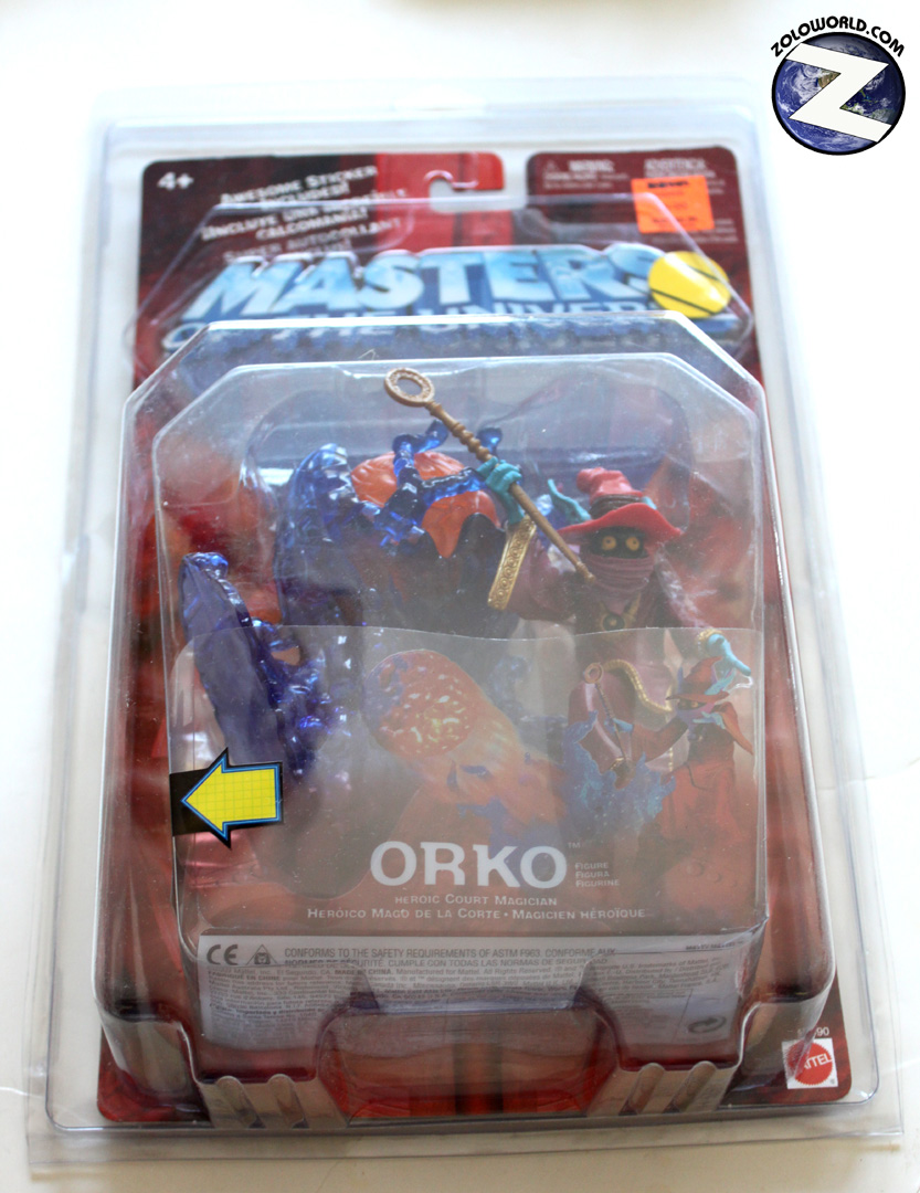 Protective case for MOTU 200X Style MOC action figures