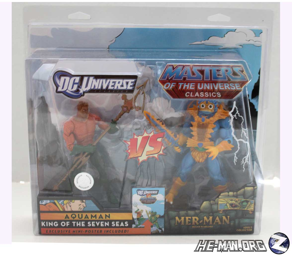 Protective Case For MOTUC / DCU Style 2 Packs (HE MAN.ORG EX.)