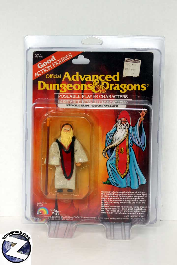 Protective case for LJN small carded AD&D figures