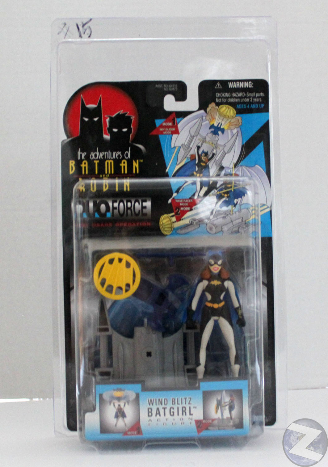 Protective case KENNER BATMAN Style MOC action figures