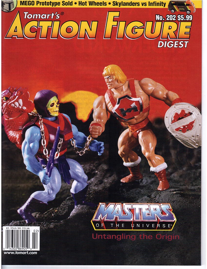 TOMART'S ACTION FIGURE DIGEST #202 MOTU MEGO ROTU STAR WARS