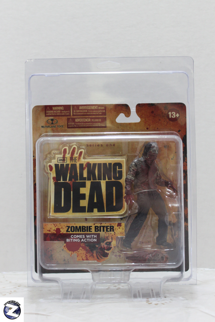 Protective case for series 1 & 2 Walking Dead MOC.