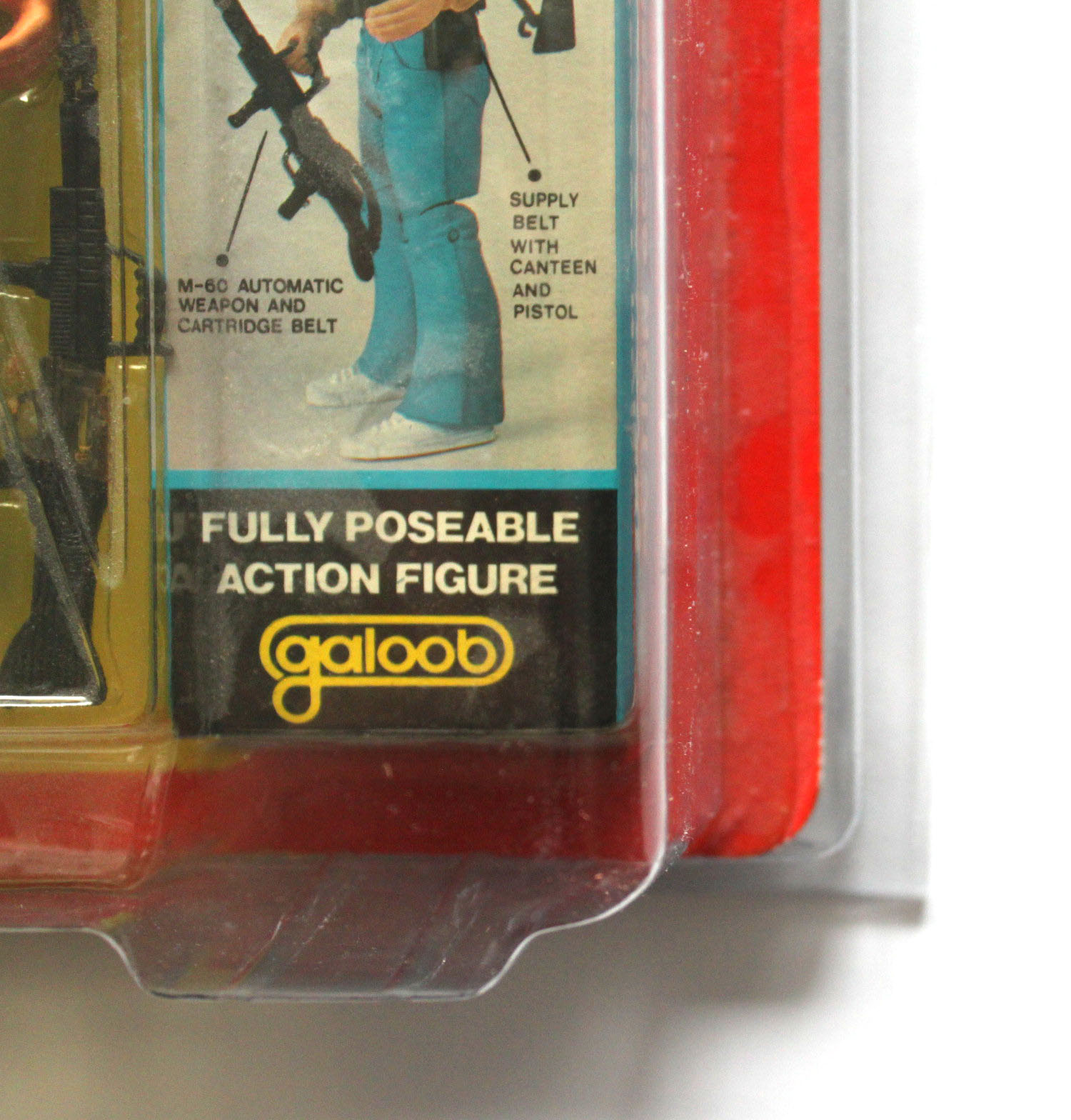 Zoloworld Protective Case Galoob A-Team / Rocky 80s MOC figures