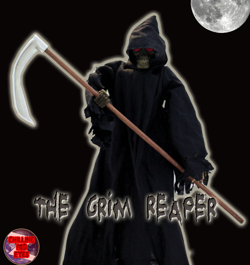 "Grim Reaper 12"" Fully Articulated Figure (CHILLING RED EYES)"
