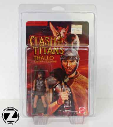 Protective action figure case Clash of the Titans MOC