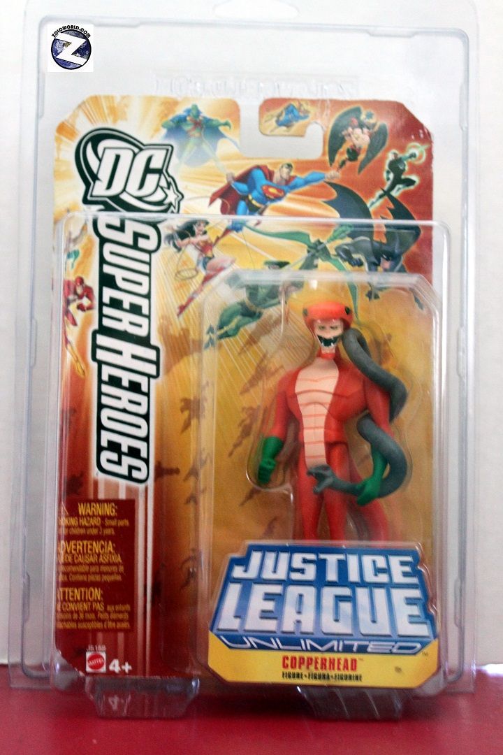 Protective case for Mattel DC Justice League Unlimited