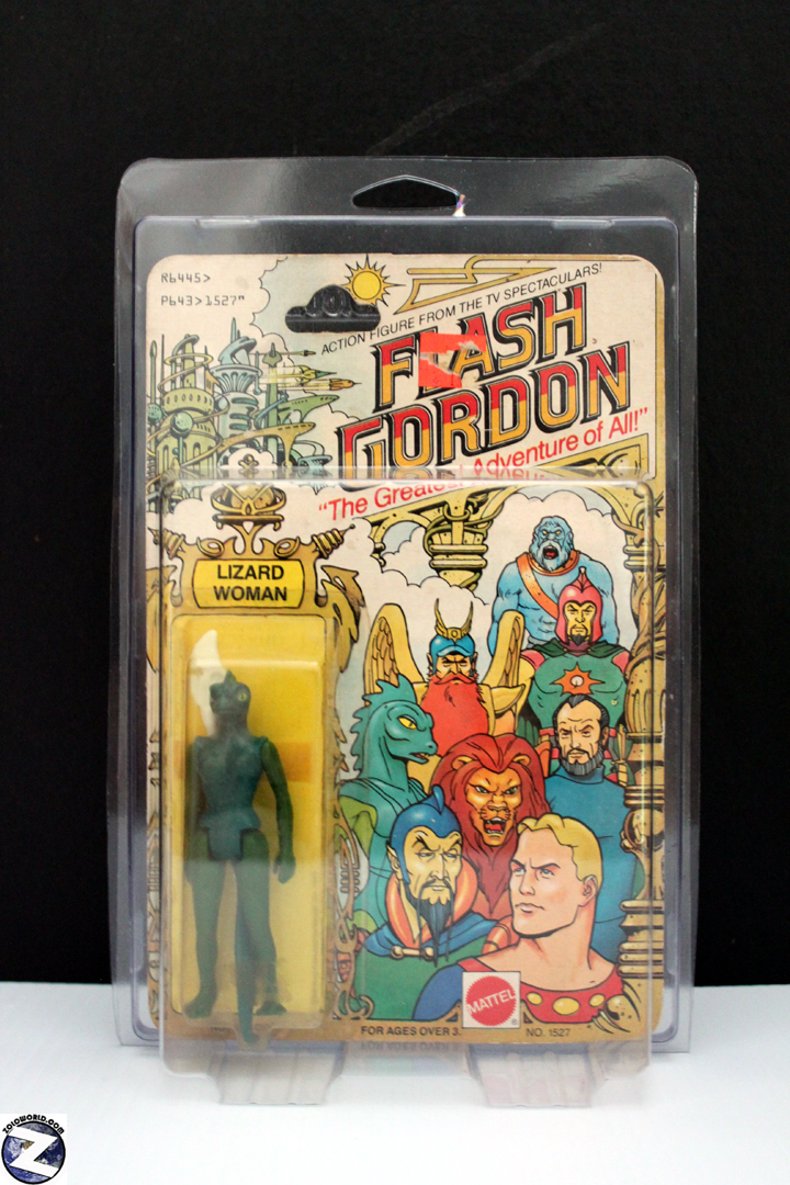 Protective action figure case Flash Gordon style MOC