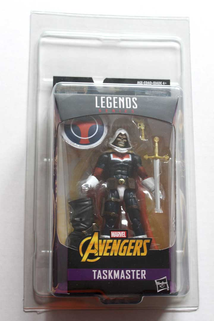 ZOLOWORLD Marvel Legends Boxed Action Figure Case