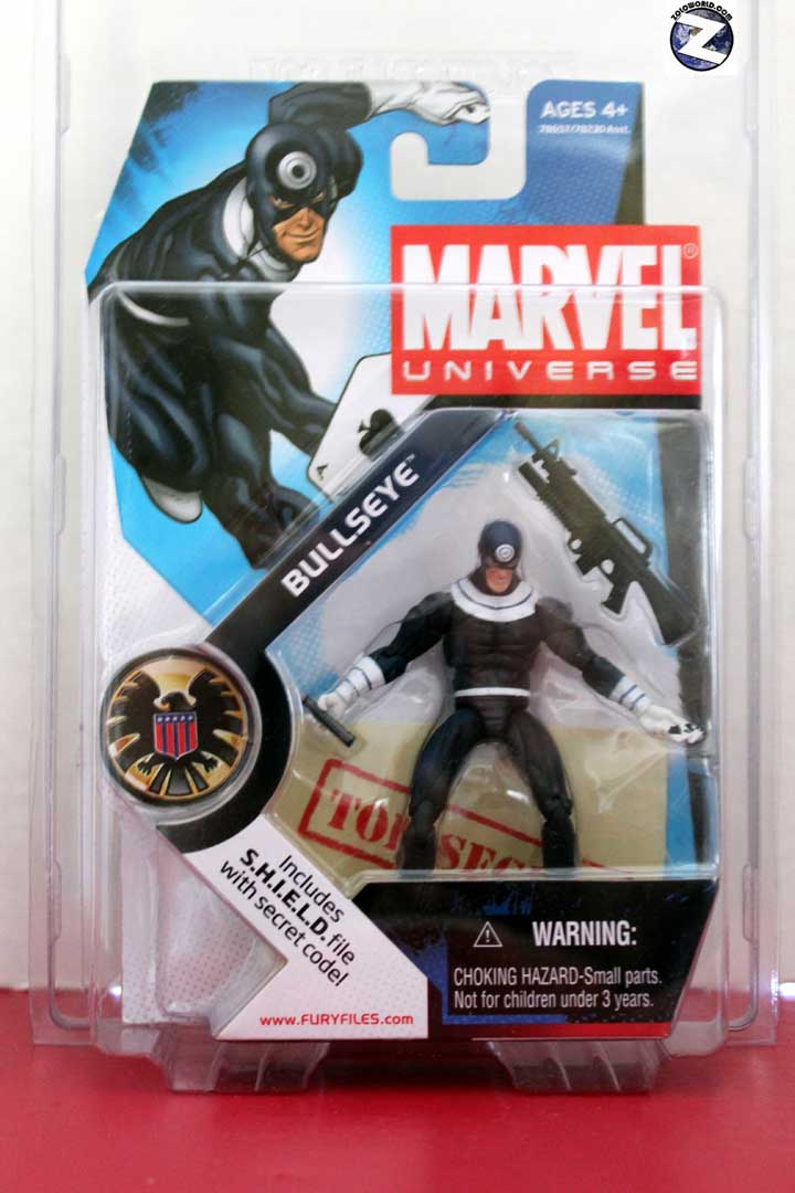Protective case for Marvel Universe small carded action figures