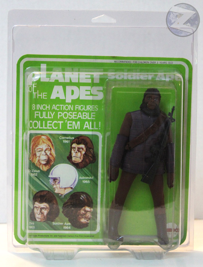 Protective case for MEGO Large Card Style MOC figures