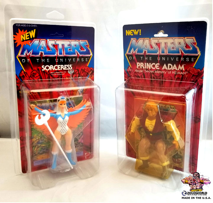 MOTU / SUPER7 MOC Protective Action Figure case ZOLOLOC