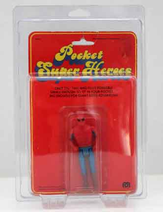 Protective case for Mego Pocket Superheroes MOC