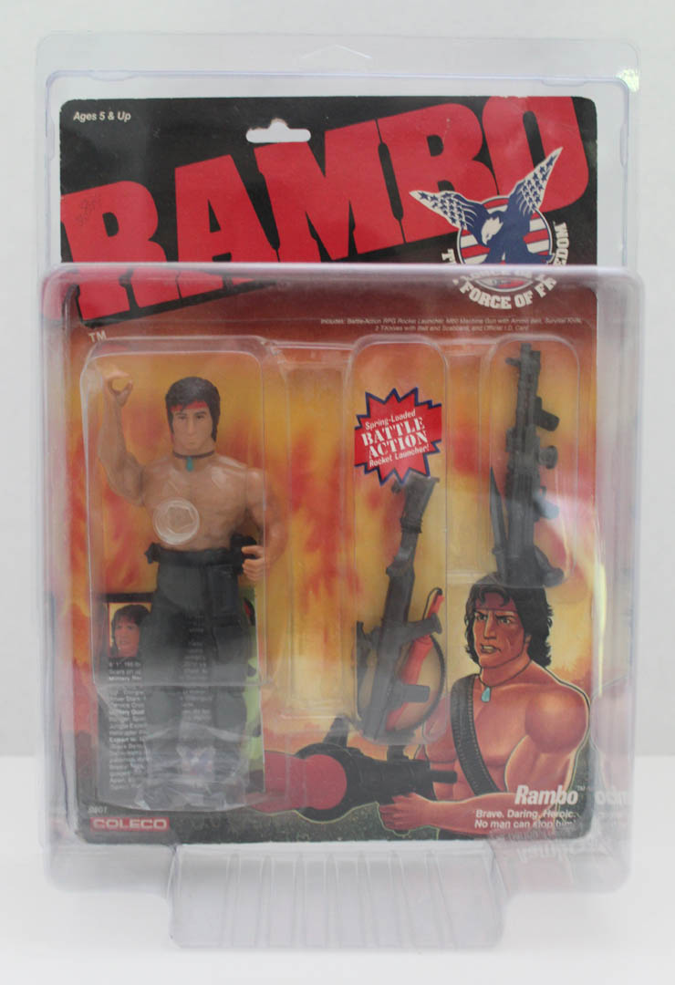 Rambo & Real Ghostbuster style MOC Protective cases Pre-order