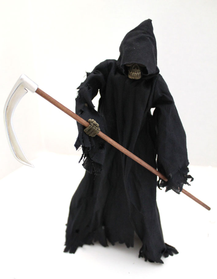 "The Grim Reaper Skeleton Warrior 12"" articulated action figure - Click Image to Close"