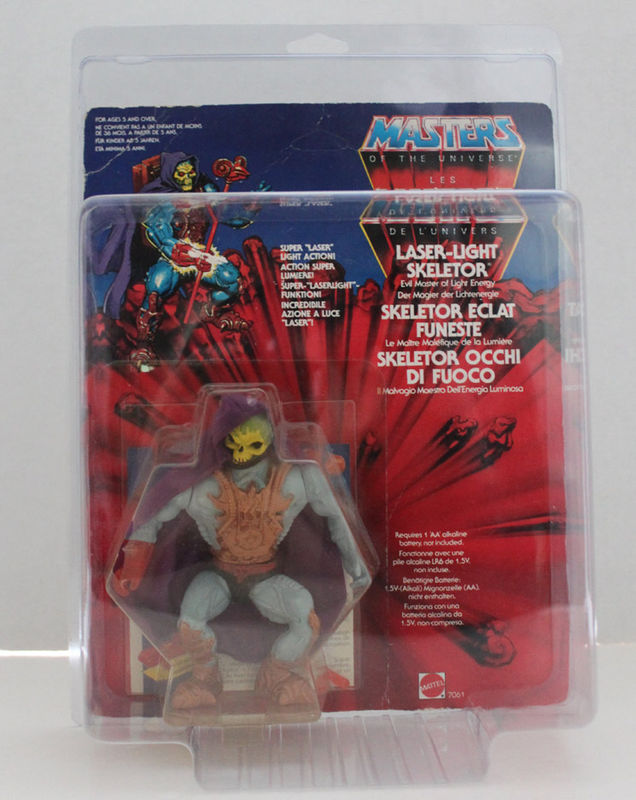 Protective case MOTU Style Deluxe MOC Action Figure