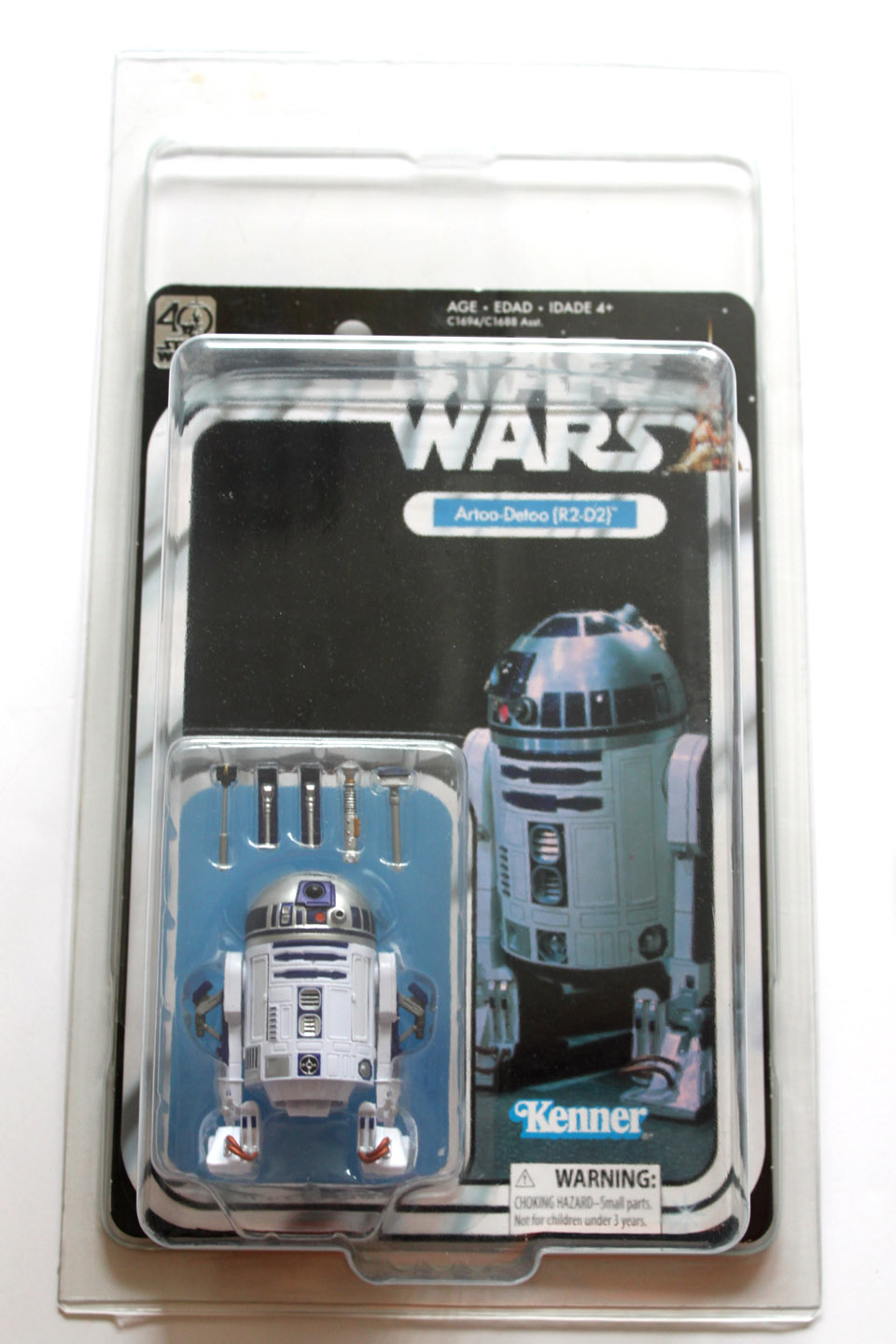Action Figure Protective Case Star Wars Black Boxed & MOC