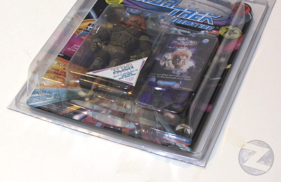 Protective case Playmates Star Trek & Captain Planet
