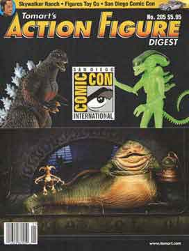 Tomart's Action Figure Digest Issue #205 REACTION STAR WARS SDCC