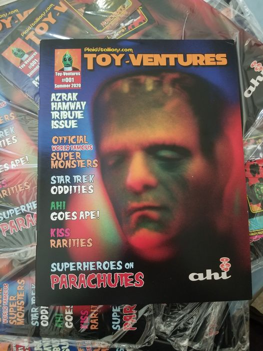 Toy Ventures Issue#1 AHI Tribute, Star Trek, Planet Of The Apes