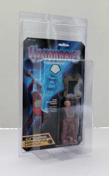 Visionaries & Infaceables MOC action figure protective case
