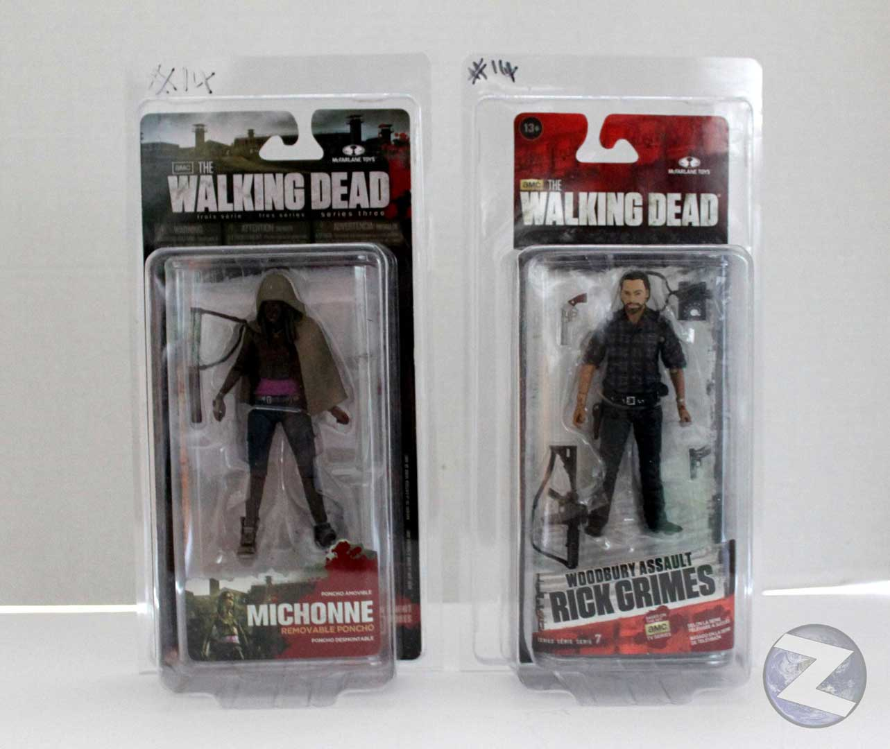 Zoloworld Wave 3+ Walking Dead MOC Action figure case