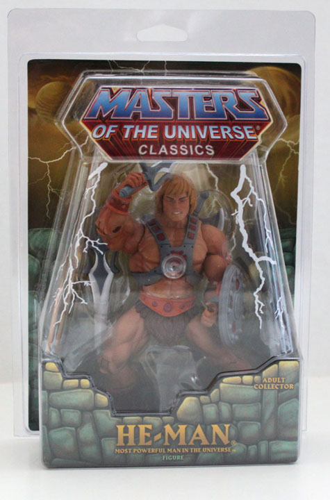 Protective Action Figure case for MOTUC Style MOC