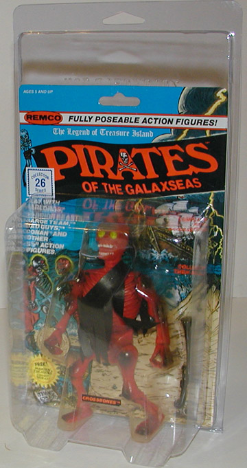 Protective figure case Remco/Secret Wars ZOLOLOC