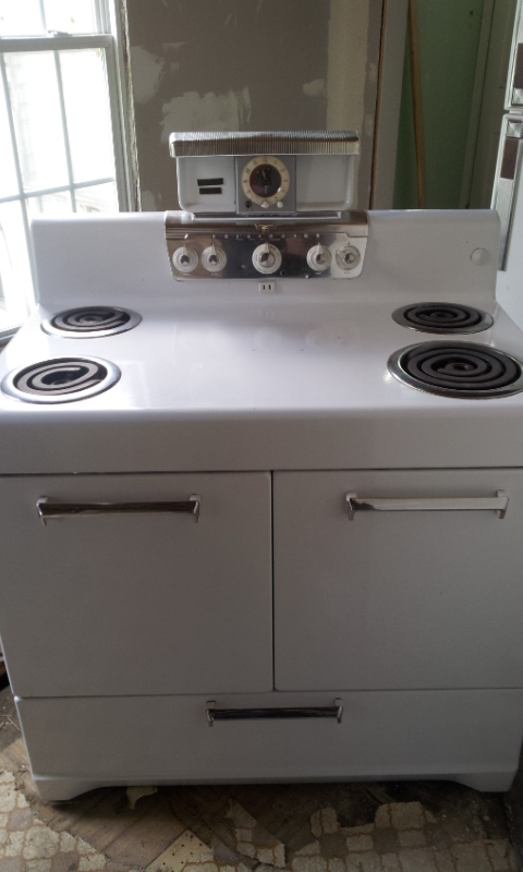 Vintage Electric Stoves ~ Frigidaire rs electric range vintage s oven stove
